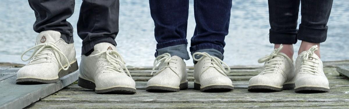 Scarpe biodegradabili - zero waste shoes