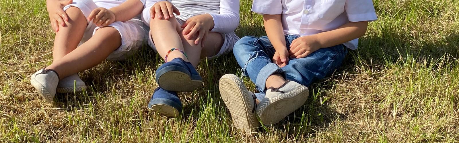 Chaussures naturelles pour enfants