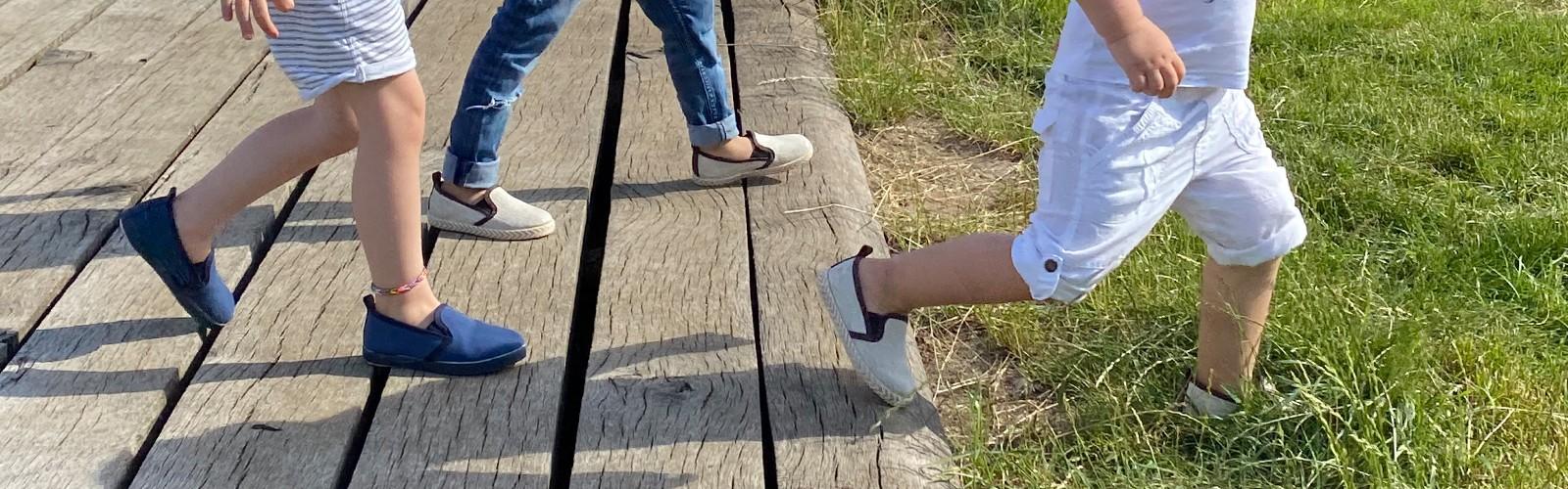 Scarpe vegan da bambino