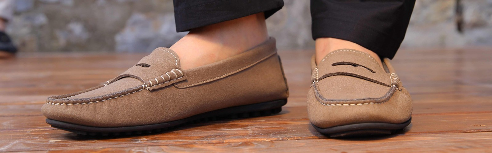 Vegan mocassin for women
